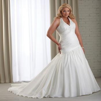 Свадебное платье для полной невесты 2018 года