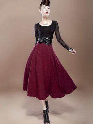 Теплая юбка на зиму 2015