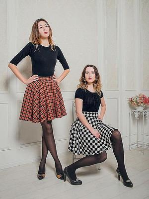 Теплые юбки на зиму 2015 года