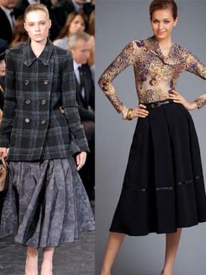 Теплые юбки 2015
