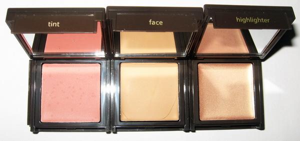 Вечерний макияж - румяна теплых тонов