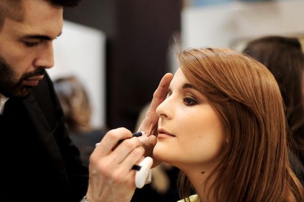 Вечерний макияж - игра на контрастах