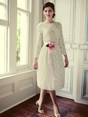 Ретро платье для свадьбы