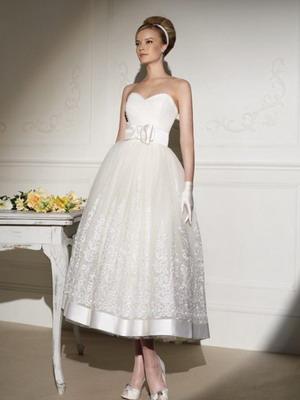 Свадебное платье в стиле 30-х годов