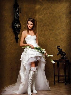 Шикарное винтажное платье на свадьбу