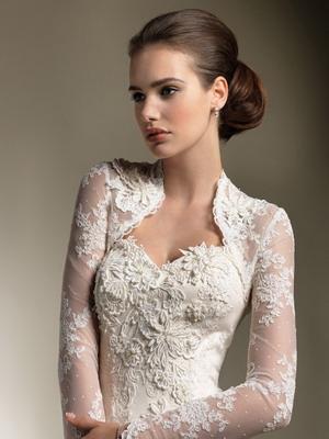 Винтажное платье невесты