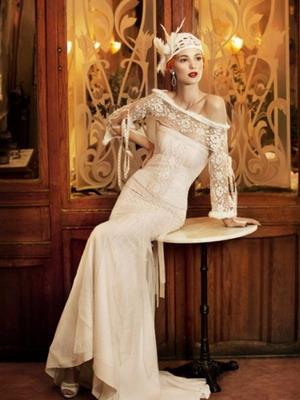 """Свадебное платье """"ретро"""""""