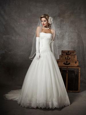 Винтажное платье на свадьбу
