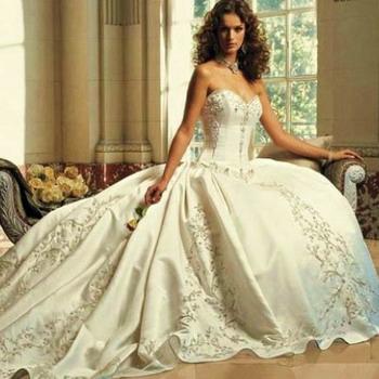 Винтажные свадебные платья в стиле ретро