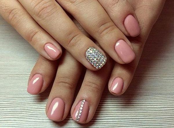 Розовые гель лаки ногтей 88