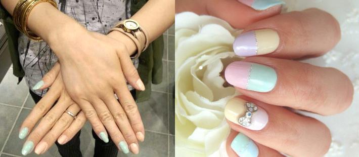 Как накрасить ногти пастельными оттенками