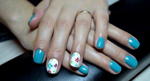 Рисунки на ногтях гель-лаком фото
