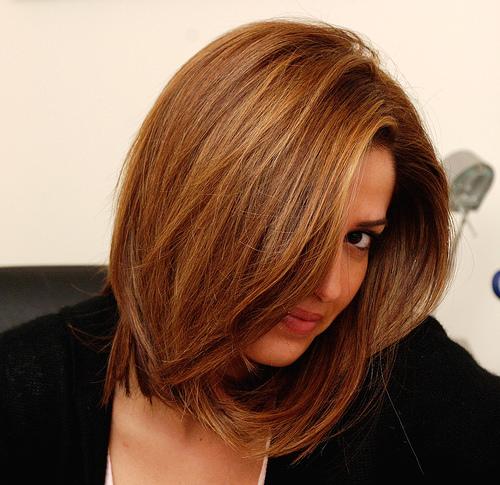 Модная техника окрашивания волос Бронд