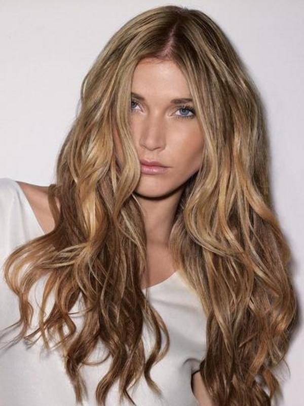 Окрашивание волос техникой бронд