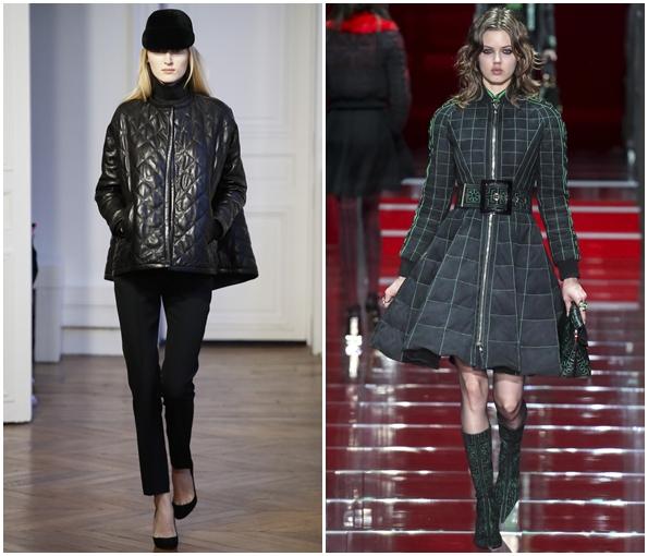 Стильные пальто А-образного силуэта осень-зима 2015-2016