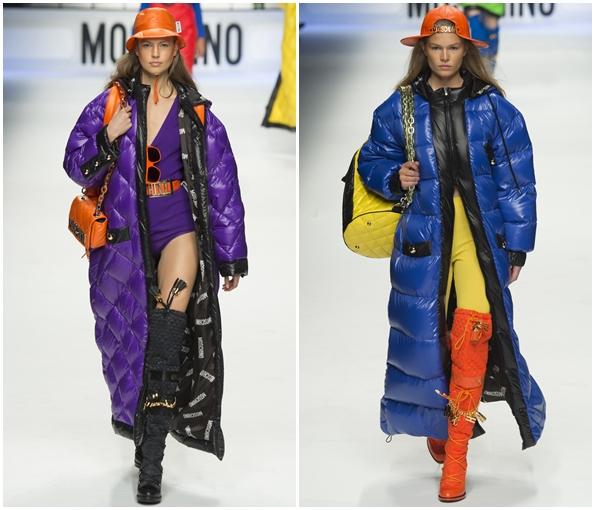 Пальто от Moschino зима 2016
