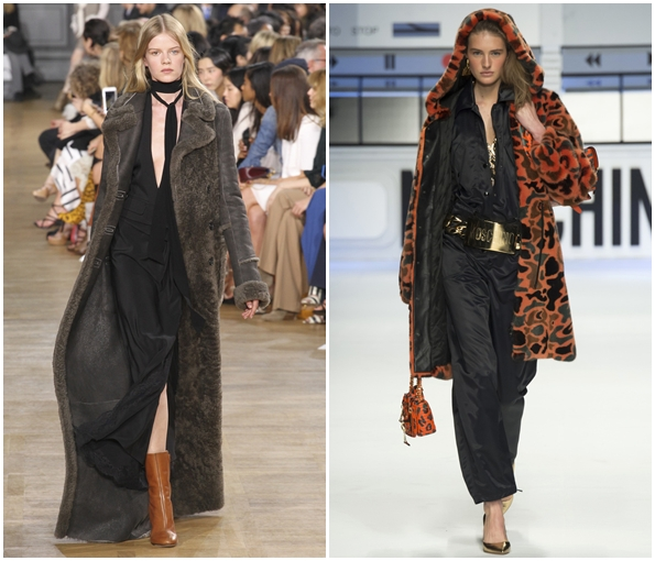 Меховые пальто на осень и зиму 2015-2016