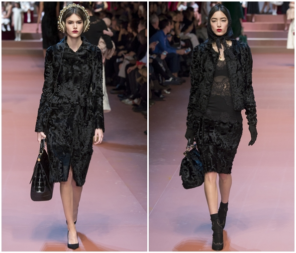 Модная верхняя одежда осень зима 2015-2016 от Dolce & Gabbana
