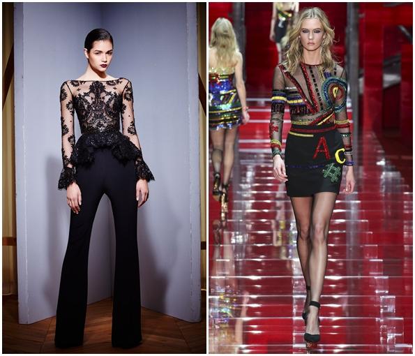 Модные прозрачные блузки на сезон осень-зима 2015-2016