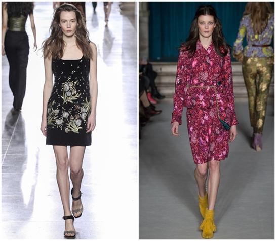 Модные принты и узоры на одежде осень-зима 2015-2016