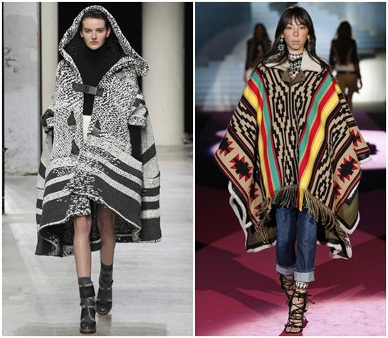Модные принты на одежде осень-зима 2015-2016