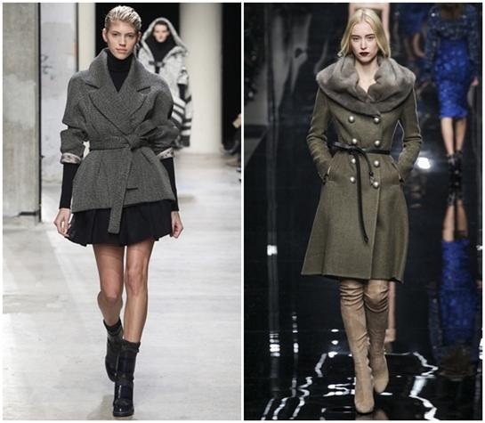 Роскошный серый в одежде на осень зиму 2015-2016
