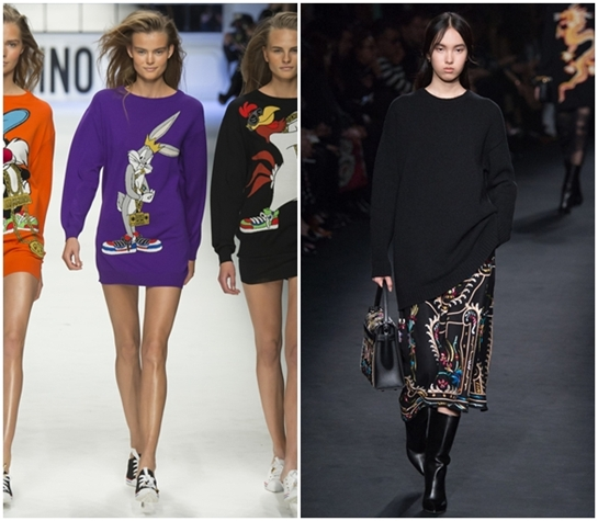 Модные свитера регланы на осень 2015 и зиму 2016