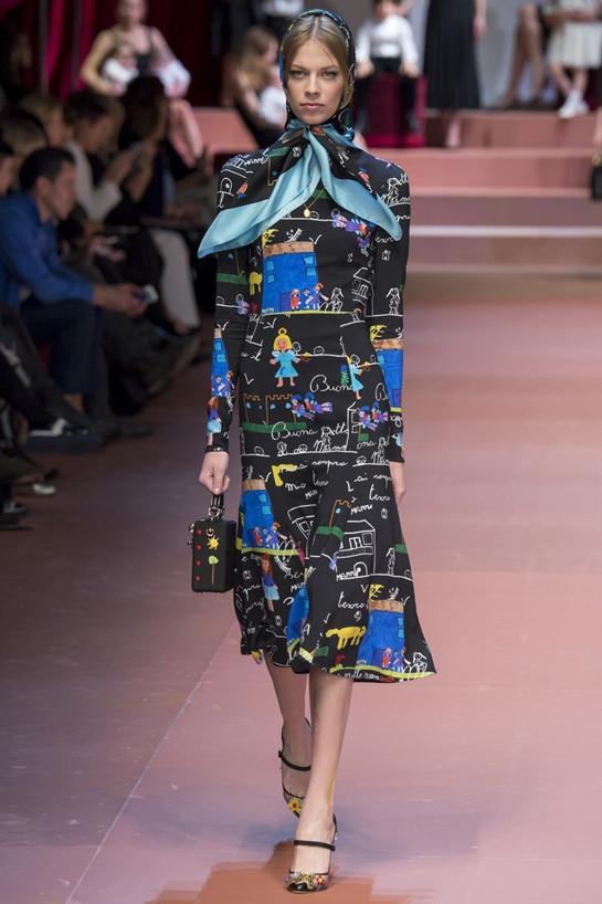 Модные косынки осень 2018