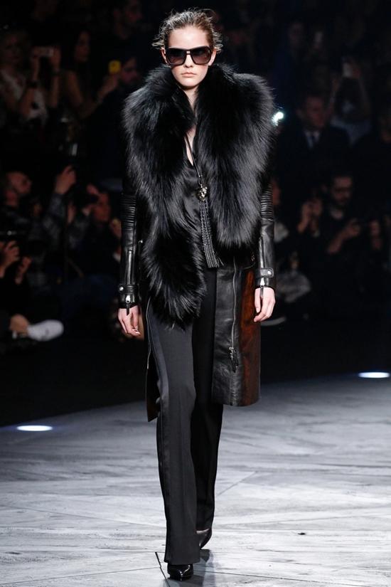 Куртки из кожи с роскошным мехом