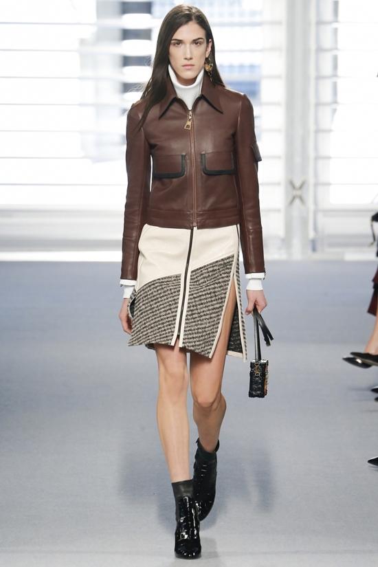 кожаные куртки коричневого цвета весна 2016