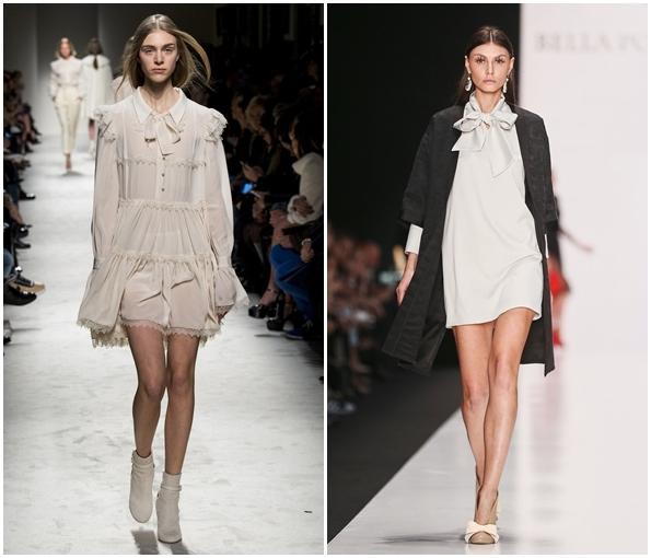 Платья в винтажном стиле осень-зима  2015-2016