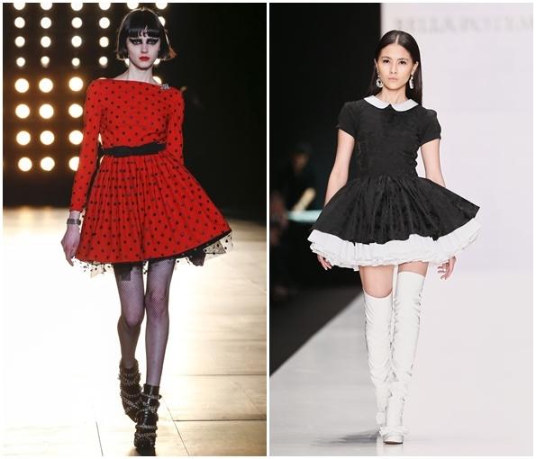 Элегантные пышные платья 2015-2016