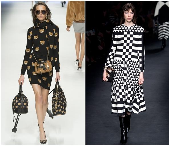Трикотажные платья сезона осень-зима 2015-2016