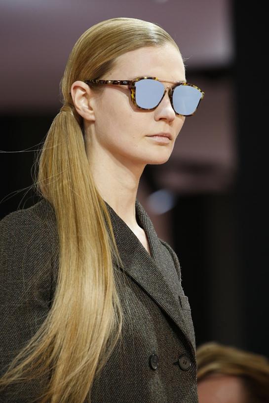 Солнцезащитные очки в стиле ретро осень-зима 2017-2018