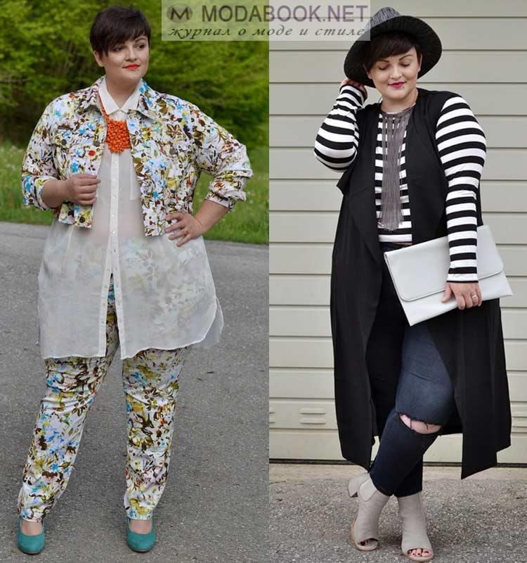 21a075f1e912 Мода для полных на 2019 год  самые модные тенденции сезона