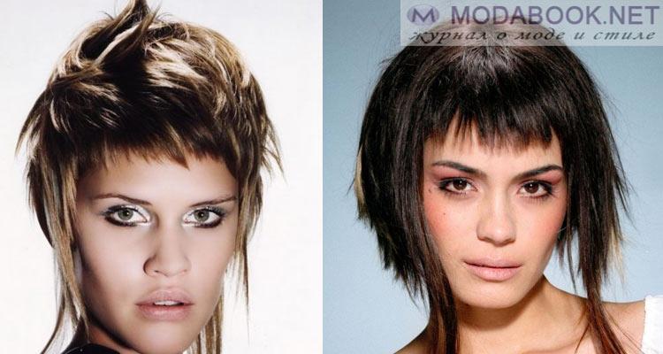 Причёски для маленького лица