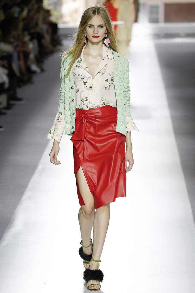 Модная юбка весна-лето 2021