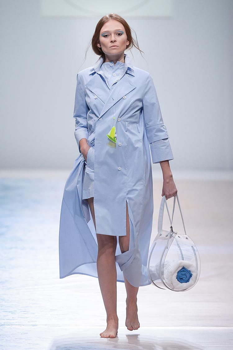 Модный цвет весна-лето 2021 - нежный голубой