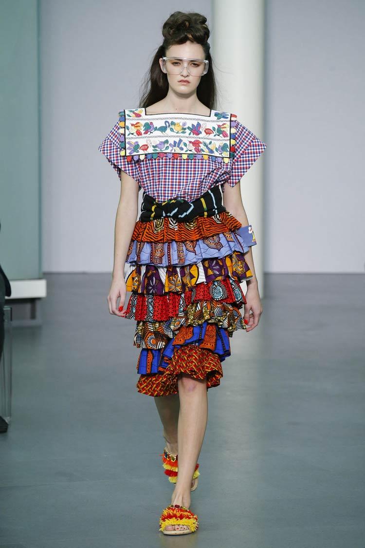 Мода весна-лето 2021 - оборки