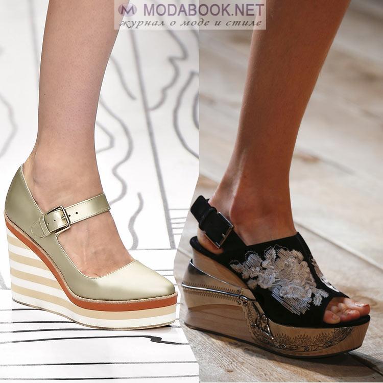 Модная обувь весны и лета 2016
