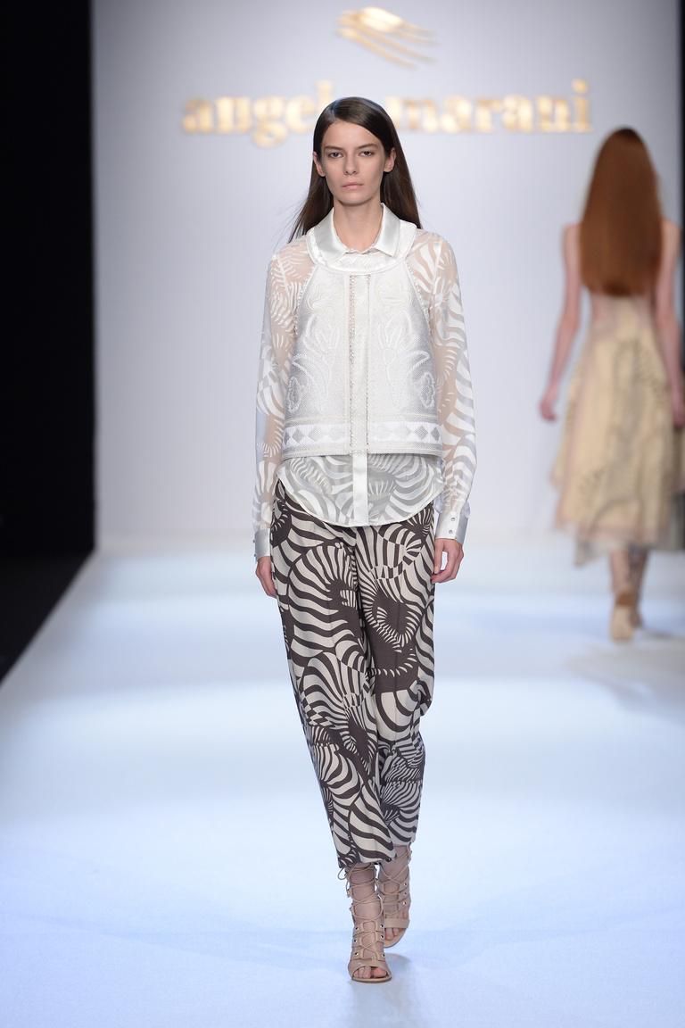 Модные принты брюк на весну лето 2016 года