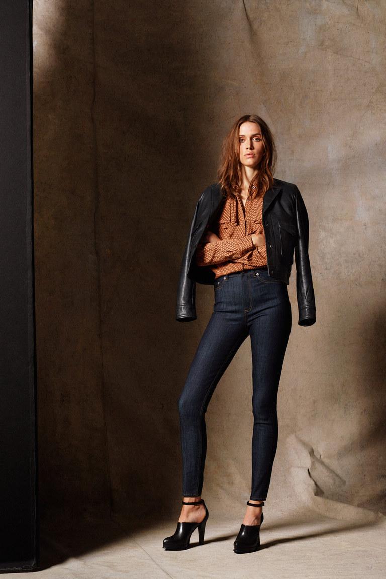 Женские модные зауженные брюки весна-лето 2016 года