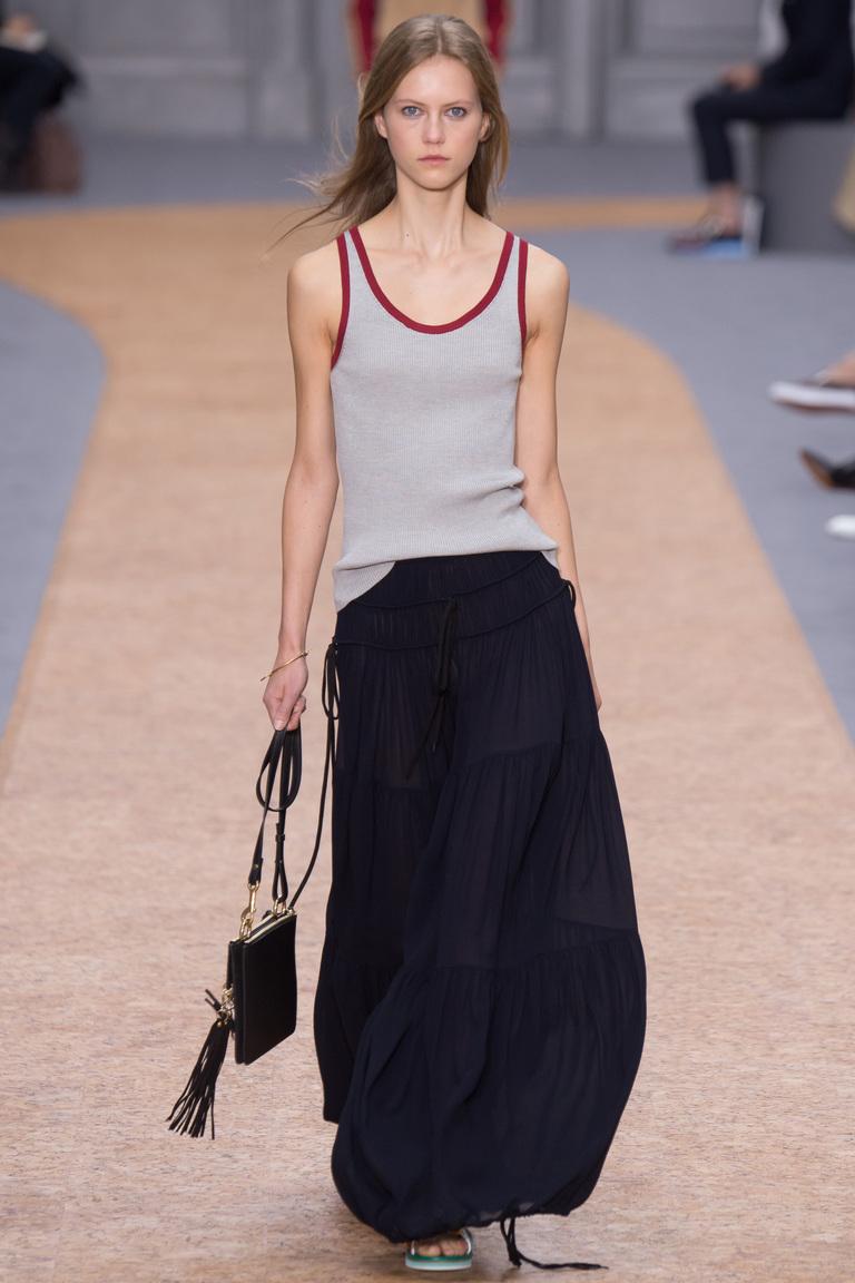 Модные юбки весна