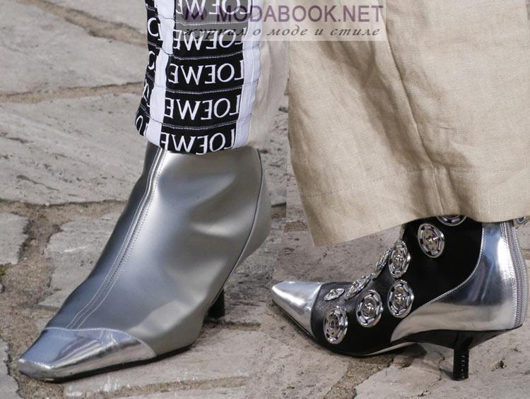 Модная обувь весна лето 2018