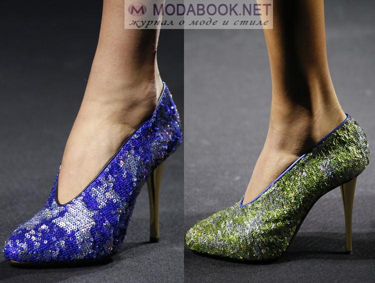 Туфли на модной шпильке весна лето 2018