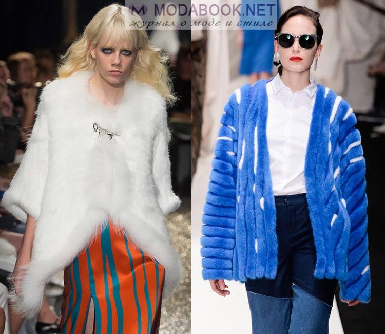 Куртки из меха: мода весна лето 2016