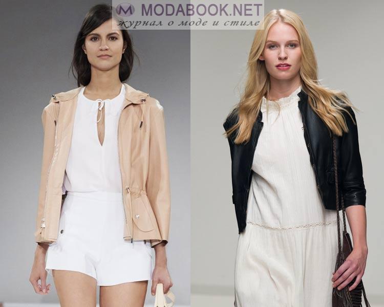 Короткие куртки: мода весна лето 2016