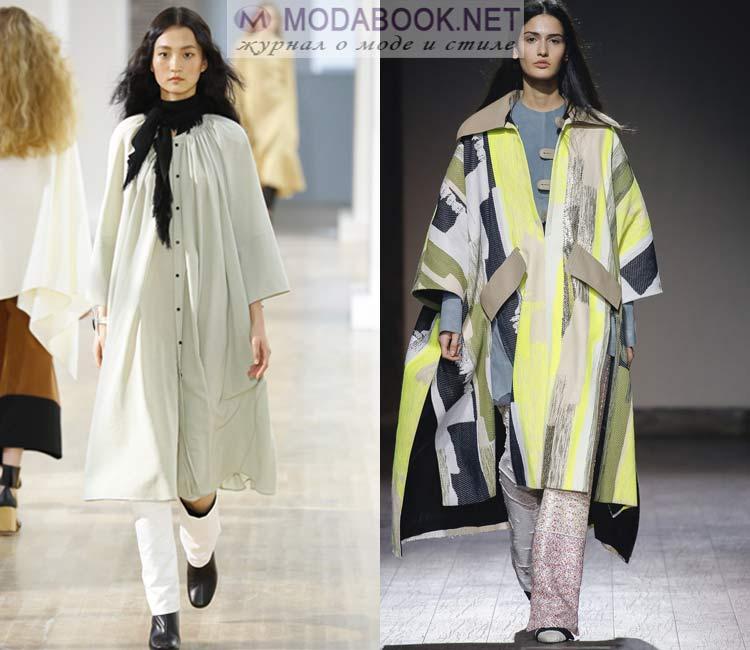 Модное пальто oversize 2016