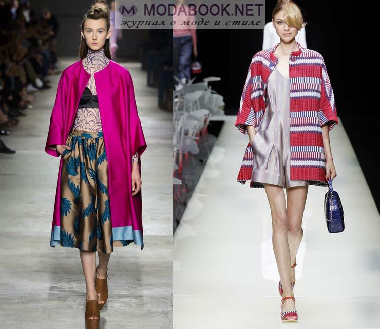 Фасоны модного пальто весна 2016