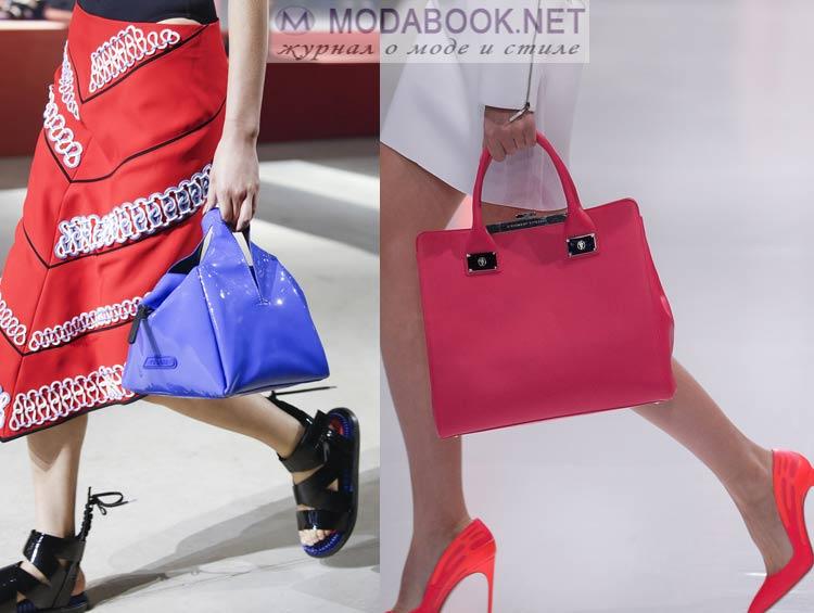 Цветовая гамма сумок 2016